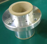 Bushes for metal etcher of semiconductor production equipment